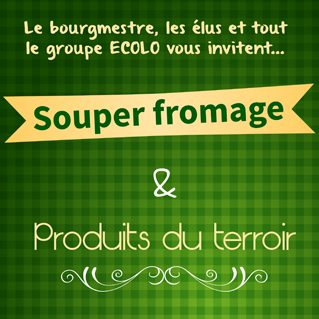 Souper fromage du groupe local ECOLO