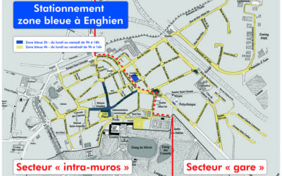 Extension de la zone bleue  : une solution au parking