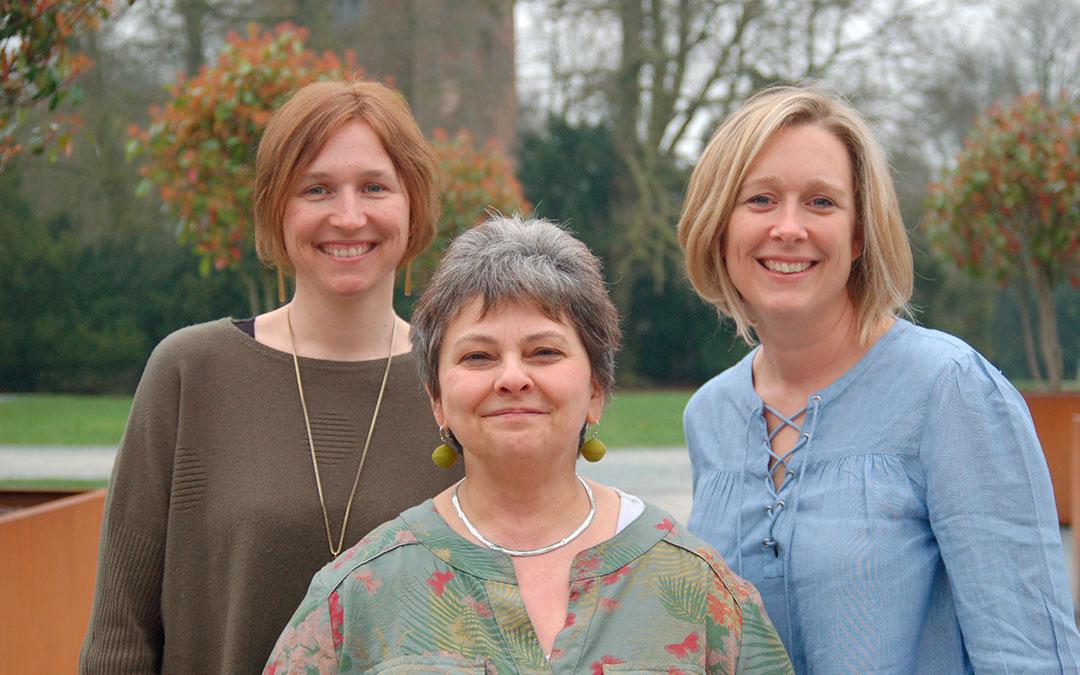 Drie Edingse vrouwen dragen de kleuren van ECOLO op regionaal, federaal en Europees niveau