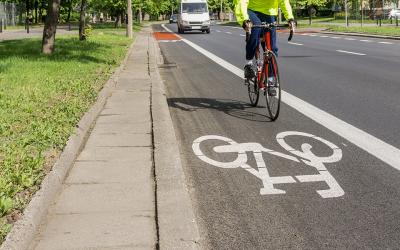 800.000€ pour sécuriser les déplacements des cyclistes
