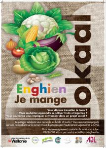 A Enghien je mange local et je cultive solidaire